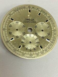 OMEGA SEAMASTER CHRONOGRAPH DIAL CAL 861 3 REGISTER  145-016