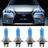 4PCS H7 XENON LED 100W Lampe Phare Voiture Lumière BEAM 12V Ampoule HEADLIGHT fr