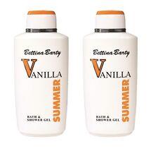 Bettina Barty Vanilla Summer Bath & Shower Gel 2 x  500 ml Sparpack