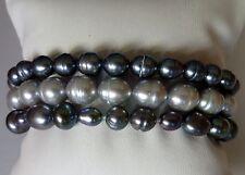 Honora Cultured Pearl Set of 3 Stretch Bracelets