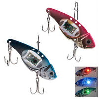 LED Deepwater Fishing Fish Lure Bait Light Flashing Lamp Tackle Hooks OutdoorJCA
