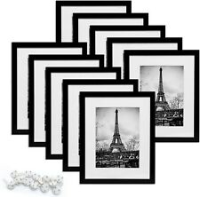 """8x10"""" Picture Frame, Set of 10, Bulk Photo Frames for Wall or Tabletop Display"""