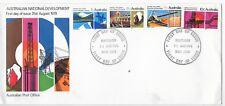 AUSTRALIA F.D.C.31/8/1970;NATIONAL DEVELOPEMENT SG 469-72 MAITLAND N.S.W. CANCEL