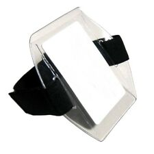 Arm Band Photo ID Badge Holder Vertical w/ Black Strap - Pack of 10