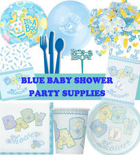 Blue Boy Baby Shower Party Supplies Tableware Baby Shower Decorations