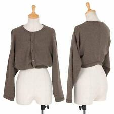 tricot COMME des GARCONS Short-length cardigan Size About  S(K-30224)