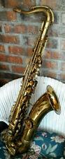 Vintage 1919 GEO. M. BUNDY Tenor Sax for Restoration or Parts.