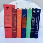 Lot of 7 Modern Library Vintage Hardcover Books Mid Century Staging Shelf Decor