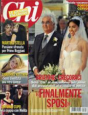 "* CHI * Rivista N°25/ 25/GIU/2008 * BRIATORE - GREGORACCI "" FINALMENTE SPOSI """