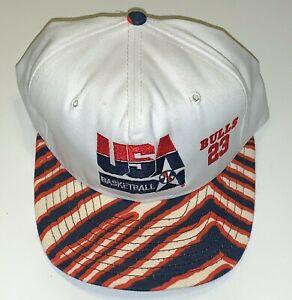 1992 USA Basketball Dream Team Chicago Bulls Michael Jordan Snapback Hat OSFA