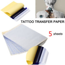 5Sheets*Tattoo Transfer Copier Paper A4 Size Stencil Carbon Thermal Tatoo Tools