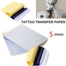 5x Tattoo Transfer Kopierpapier A4 Größe Schablone Thermal Carbon Tattoo Tools