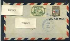 Honduras 1951 Busta 100% Administracion Poste Tegucigalpa