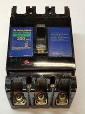 Mitsubishi DSN250-CS 200 Amp No-Fuse Switch MCCB Triple Pole 3 Phase 200A