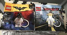 #NEW # 2 Lego Ninjago & Juegos de película de Batman 5004915 y 5004928 Llaveros Sellado!!!