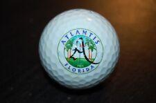 GOLF BALL LOGO Atlantis Country Club , Lake Worth , FL