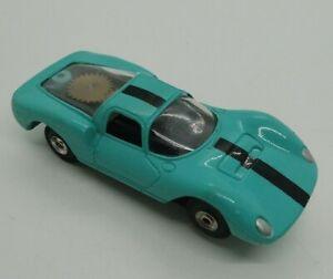 Aurora T-Jet Thunderjet turquoise Dino Ferrari No. 1381 HO Scale Slot Car