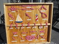 Unique Folk Art Knot Board