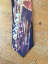 Corbata Corbata Ralph Marlin saxofón II Instrumento Musical