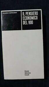 Napoleoni: Il pensiero economico del 900  PBE 1963