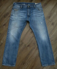 Top Designer Diesel KROOLEY 0805Q Regular Slim Carrot Zip Fly Jeans W34 L30
