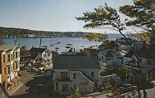 America Postcard - Boothbay Harbor - Maine - Looking Down Commercial Street A880