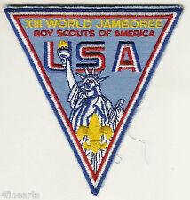 BOY SCOUTS Patch - XIII (13th) World Jamboree USA - Statue of Liberty - Large