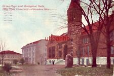 ORTON, PAGE and BIOLOGICAL HALLS, OHIO STATE UNIVERSITY, COLUMBUS, 1911