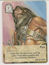 Spellfire 4th Edition Card M/NM 336/500 Pyre