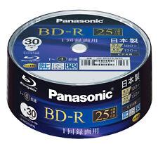 30 Blu ray panasonic Bd-r 4x vierges 25gb printable Japon original-Mid-code