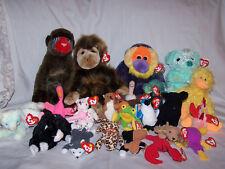 "24 - Assorted ""Beanie & Teenie Baby + Pillow Pals"
