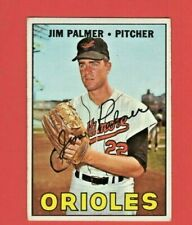 1967 Topps #475 Jim Palmer Hof - High Grade Ex-Nm Awesome Collectible - D213