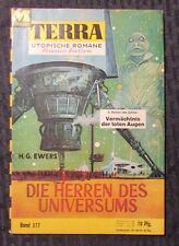 Vintage TERRA Science Fiction Digest German Magazine #377 VG/FN H.G. Ewers