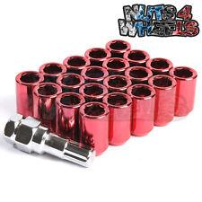 Red Tuner Wheel Nuts x 20 12x1.25 Fits Toyota GT86 Subaru BRZ