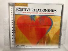 Positive Relationships Paraliminal Paul Scheele Create Strong Lasting Audio CD