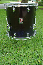 "PREMIER 14"" XPK BLACK LACQUER FLOOR TOM for YOUR DRUM SET! LOT #A347"