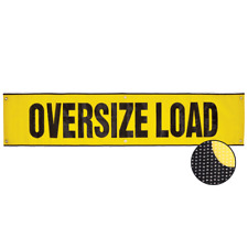 "VULCAN Mesh Oversize Load Banner - Grommets - 18"" x 84"""