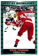 1993-94 Score Canadian #448 Steve Yzerman