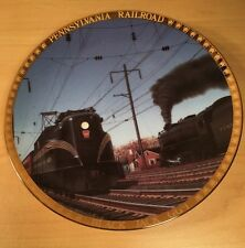 "Limited Edition ""Black Jack"" GG1 Pennsylvania Railroad American Train Plate"
