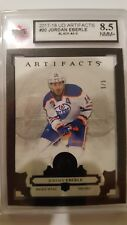 Jordan Eberle 2017-18 Artifacts Black #5/5 Card KSA Graded 8.5!!!