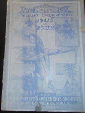 CATALOGUE VÊTEMENT ANGLAIS / AMÉRICAINS - SPORTS - CHASSE PÊCHE MOTO  ( ref 25 )