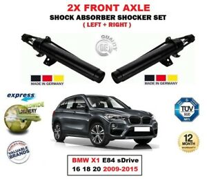 FOR BMW X1 E84 sDrive 16 18 20 2009-2015 2X FRONT LEFT RIGHT SHOCK ABSORBERS SET