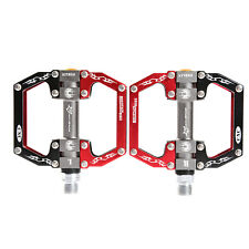 ROCKBROS Bike Bicycle Pedals Cycling Sealed Bearing Pedals Red