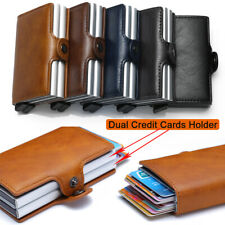 Wallet For Men Slim Mini Secrid Aluminium RFID Blocking Dual Credit Cards Holder