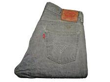 "LEVIS 501 Jeans Straight Leg Grey Denim SIZE W34 L30 Waist 34"" Leg 30"" - SALE"