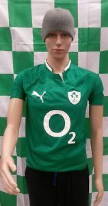 Ireland 2011-2013 Original Puma Rugby Union Jersey (Youths 8-9 Years)
