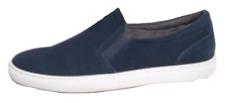 $69 Bar III Mens Brant Slip-On Sneakers Navy 11