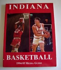 INDIANA UNIVERSITY 1994-95 MEDIA GUIDE, 184 PAGES, EXCELLENT CONDITION