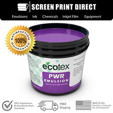 Ecotex Pwr Pre Sensitized Water Resistant Screen Printing Emulsion 1 Qt 32oz
