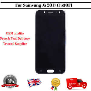 Display For Samsung Galaxy J5 2017 J530F Black LCD Screen Digitizer Replacement